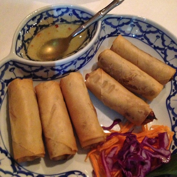 Fried spring rolls - Addie's Thai House, Chesterfield, MO