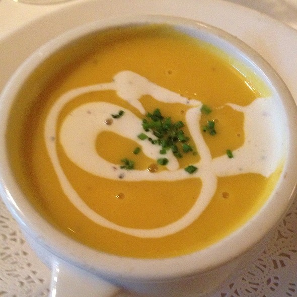 Butternut Squash Soup - Bistro Jeanty, Yountville, CA