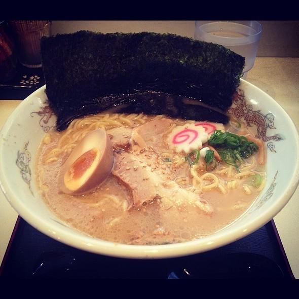 Tonkotsu Ramen @ Menya City