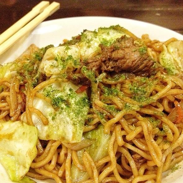 Beef Yakisoba @ Tamagoya! Noodle House