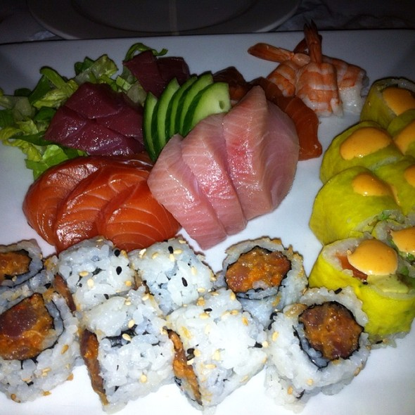 Sushi Platter - Docks Oyster Bar and Seafood Grill, New York, NY