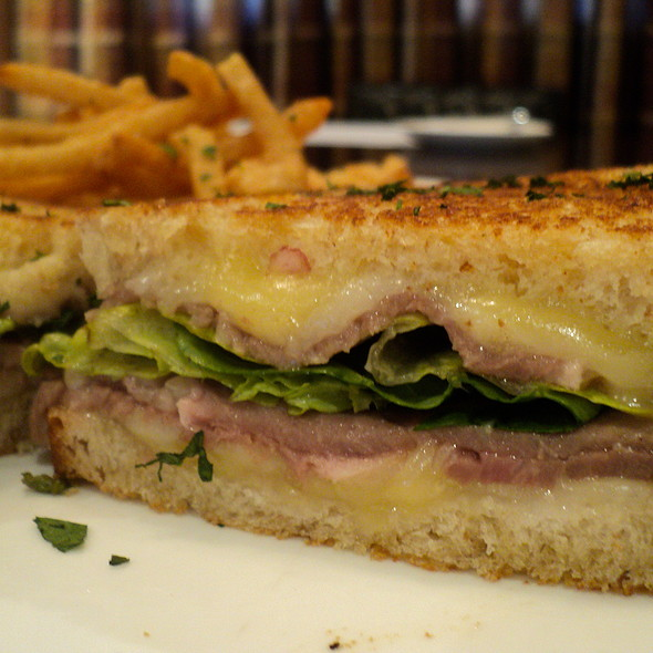 Grilled Cheese Roast Beef Sandwich @ Elbert'S Steak Room