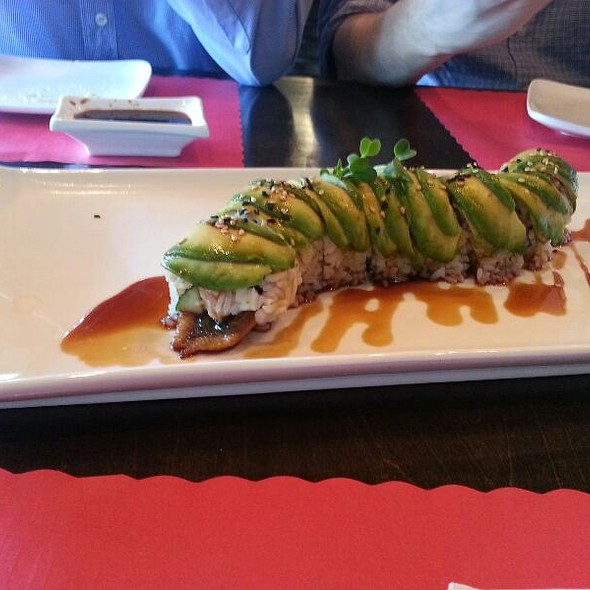 Dragon Roll @ Izakaya Sushi Ran
