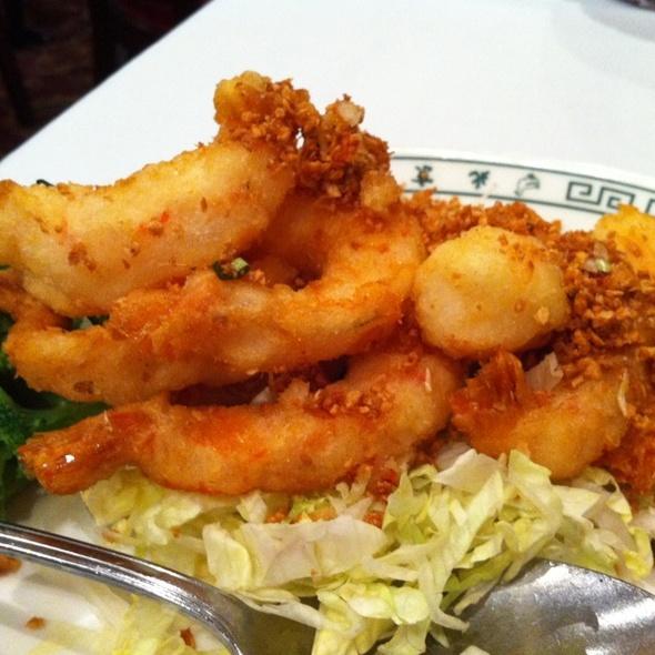 Salt and pepper shrimp @ Peking Gourmet Inn: Bailey's Crossroads