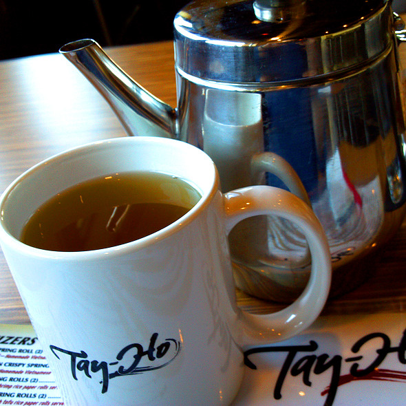 Hot Jasmine Tea @ Tay-Ho