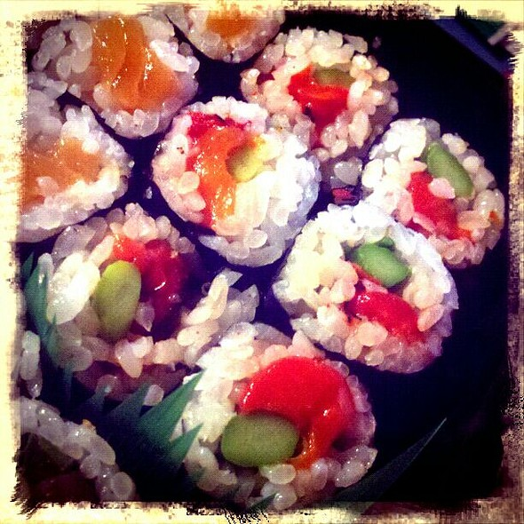 Roasted Red Pepper & Asparagus Sushi Roll - Sushiko - Chevy Chase, Chevy Chase, MD