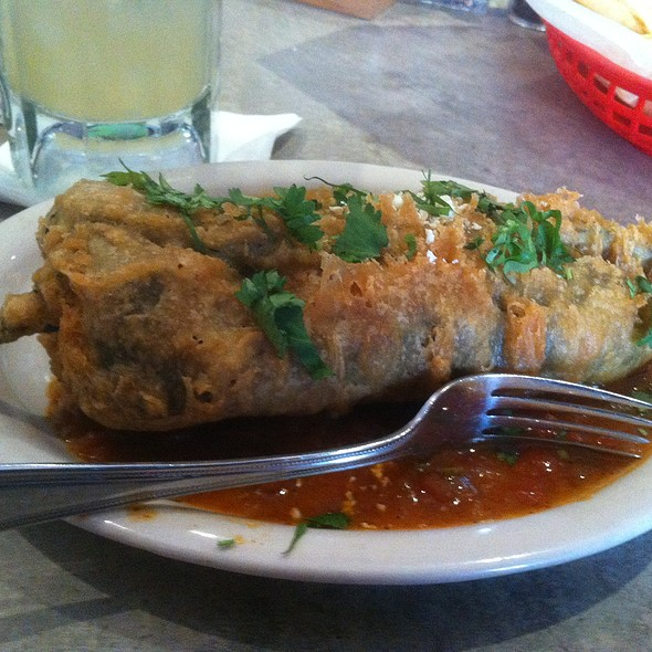 Chile Relleno @ El Real Tex Mex