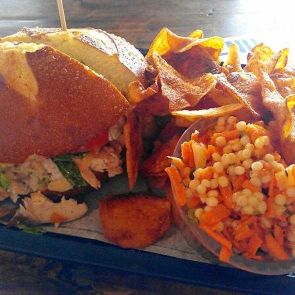 Crunchy Chicken Sandwich @ Local Foods