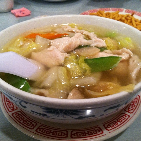 Wor Wonton Soup @ K & A Canton Chinese Restaurant