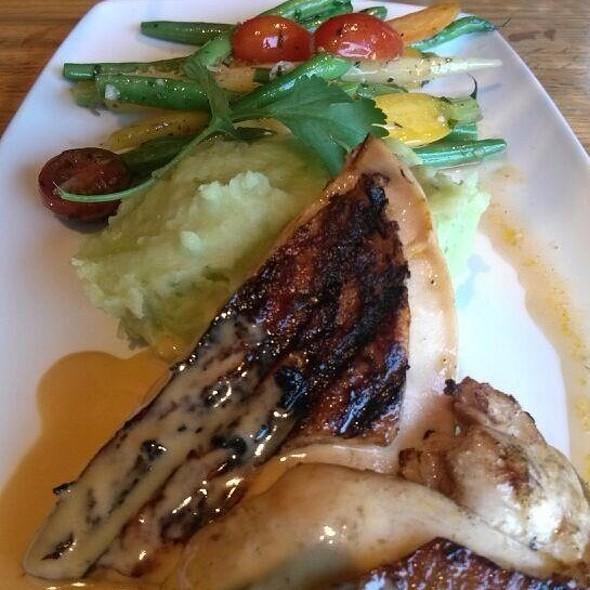 Grilled Chicken @ Rathbun's Blue Plate Kitchen