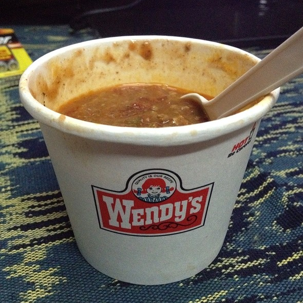 Chili Soup @ Wendy's - MOI