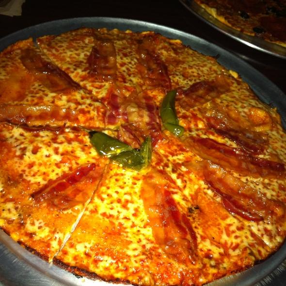 Hot Oil & Bacon Pizza @ Colony Grill