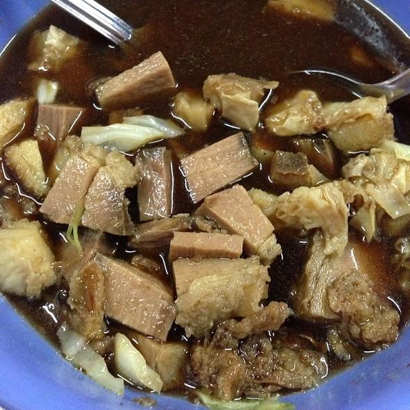 Soup Daging With Perut @ Aneka Sup @Bukit Jalil LRT Station