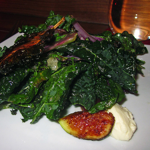 Kale 3-Ways Salad - Degustation, New York, NY