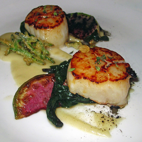 Scallops - Degustation, New York, NY