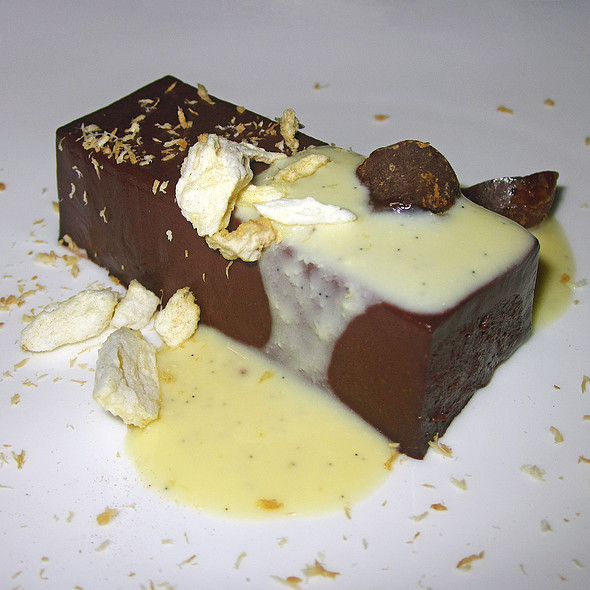 Dark Chocolate Pudding - Degustation, New York, NY