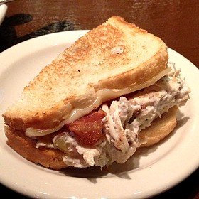 Grilled Chicken Salad Sandwich - Puckett's Historic Downtown Franklin, Franklin, TN