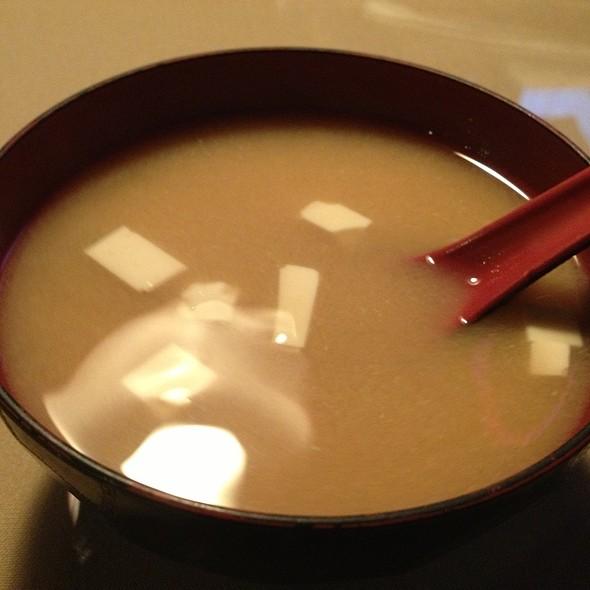 Miso Soup @ Home Thai Sushi Bar