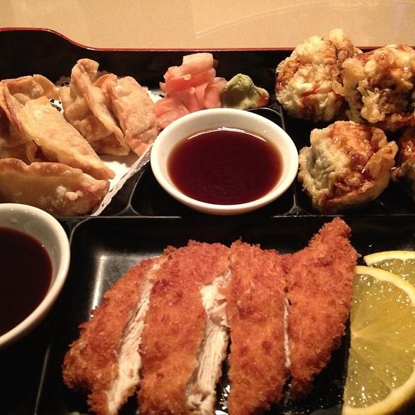 Chicken Katsu Bento Box @ Home Thai Sushi Bar