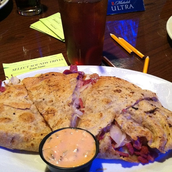Reuben Quesadilla @ McGirk's Irish Pub