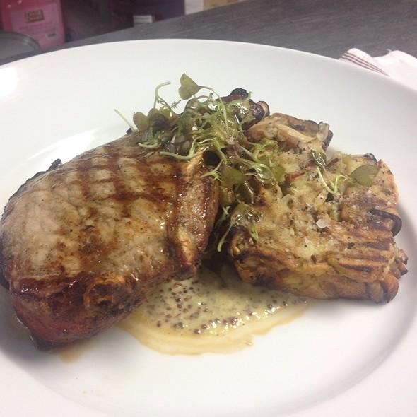 Smoked & Grilled Pork Rib Chop - Dovetail - Macon, Macon, GA