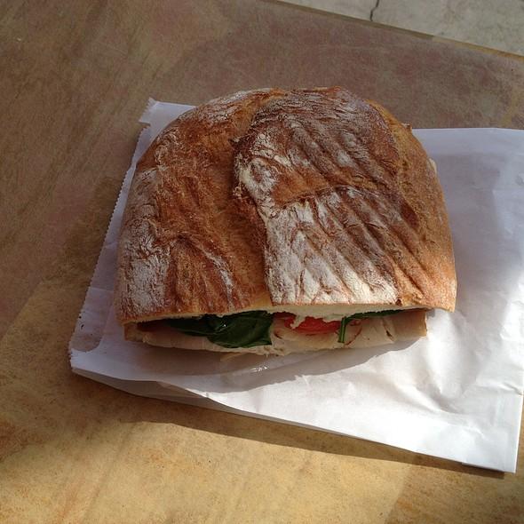 Turkey, Avocado, Bacon Sandwich - The French Gourmet, San Diego, CA