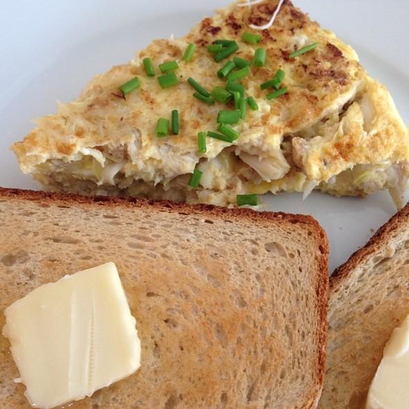 Crabmeat Omelette @ Home
