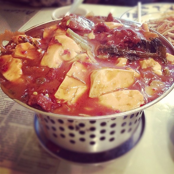 Spicy Tofu With Beef Pot @ Asian Legend Inc
