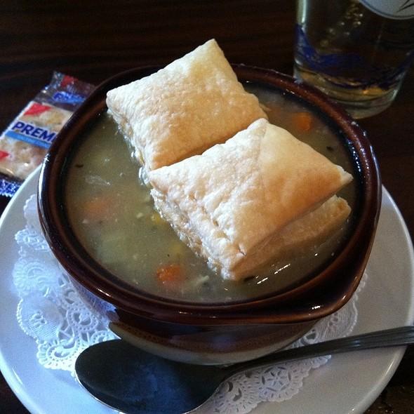 Chicken Pot Pie Soup @ Slainte Pub & Grill
