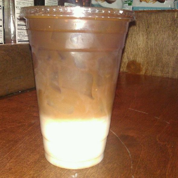 Iced Latte @ the Bean