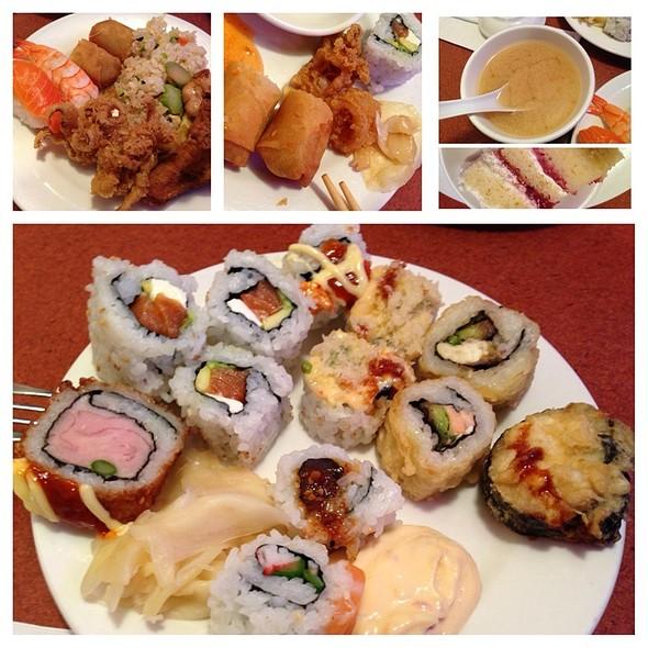 Sushi Buffet @ Ru San's