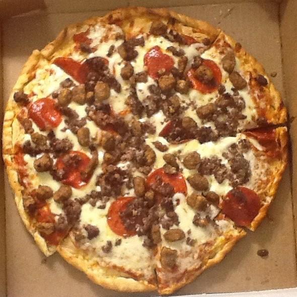 Pizza - Pepperoni, Sausage, Ground Beef And Garlic - Coastal Restaurant & Bar – Hilton Charlotte Center City, Charlotte, NC