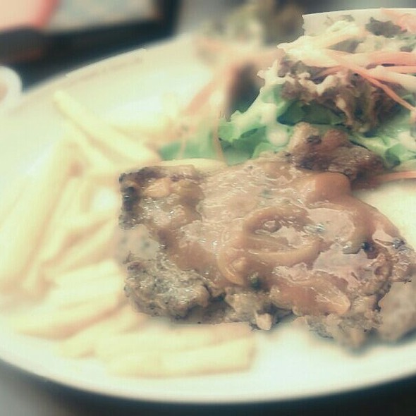 Ribeye Steak @ Black Canyon Coffee @Central RAMA III