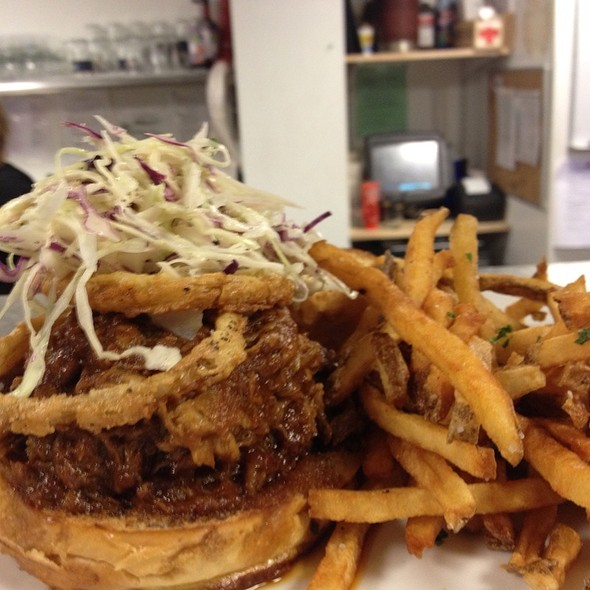 Pulled Pork Sandwich @ Falmouth Sea Grill