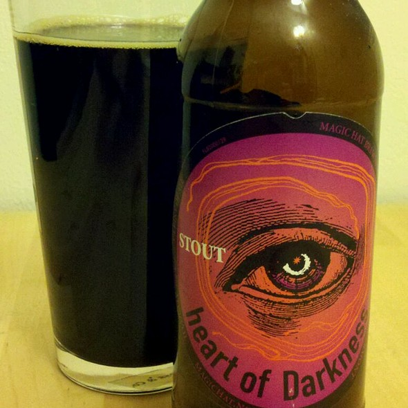 Magic Hat Hart Of Darkness Stout @ Home