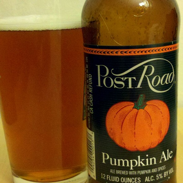 Post Road Pumpkin Ale @ Home