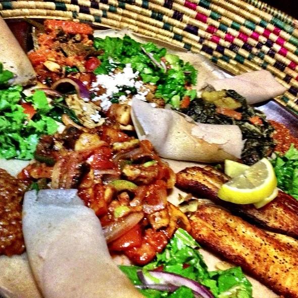 Ethiopean Platter