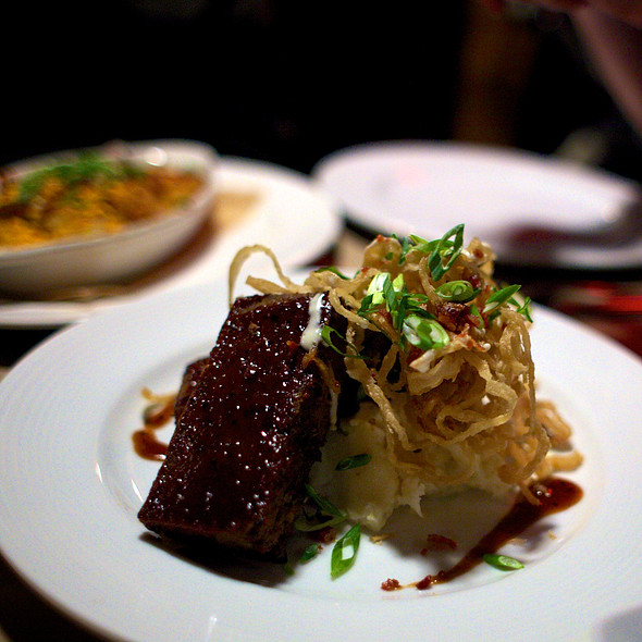 Bbq Buffalo Meatloaf @ Guy Fieri's American Kitchen And Bar