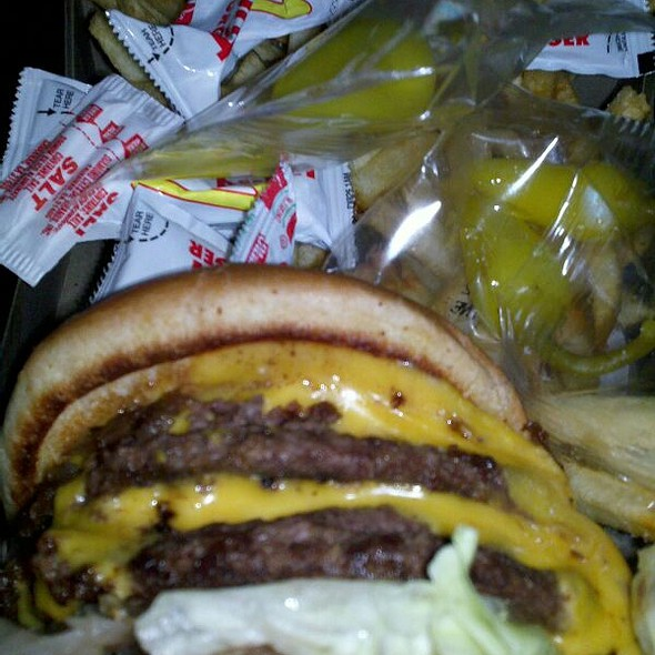 3X3 Animal Style @ In-N-Out Burger