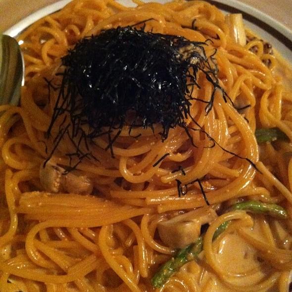 Masago Creamy Spaghetti @ Cafe de l'Orangerie
