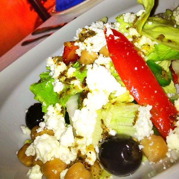 Mediterranean Salad @ Sleeping Giant Rainforest Lodge