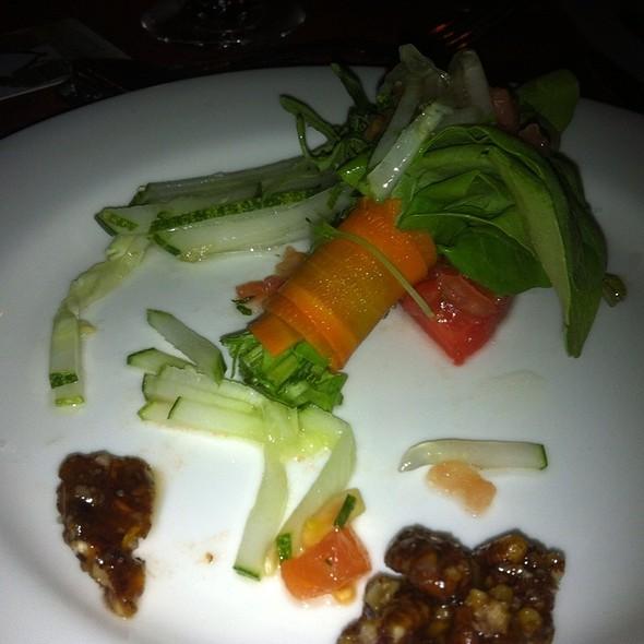 green salad @ Sandal's La Toc Resort