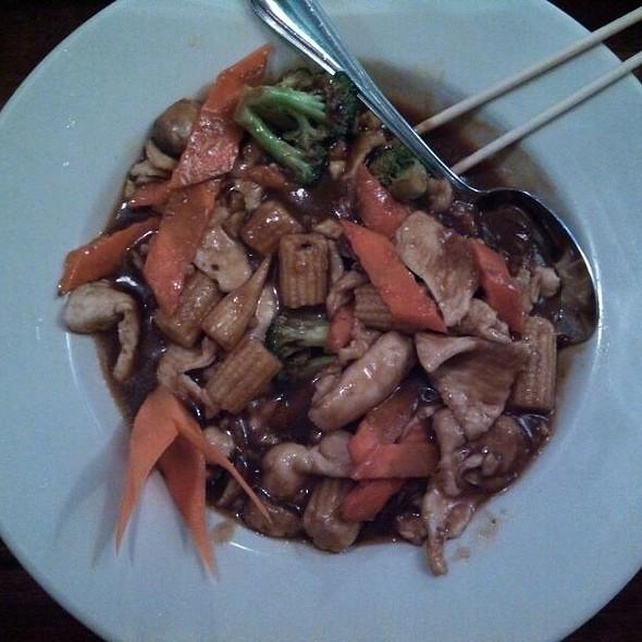 Hunan Chicken - Basil Asian Bistro, Canton, OH