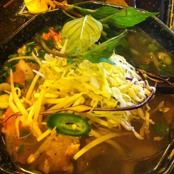 Pho @ Green Leaf Restaurant Vietnamese