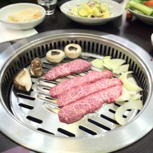 Wagyu Beef @ Chang Korean Charcoal BBQ Restaurant (Dempsey)