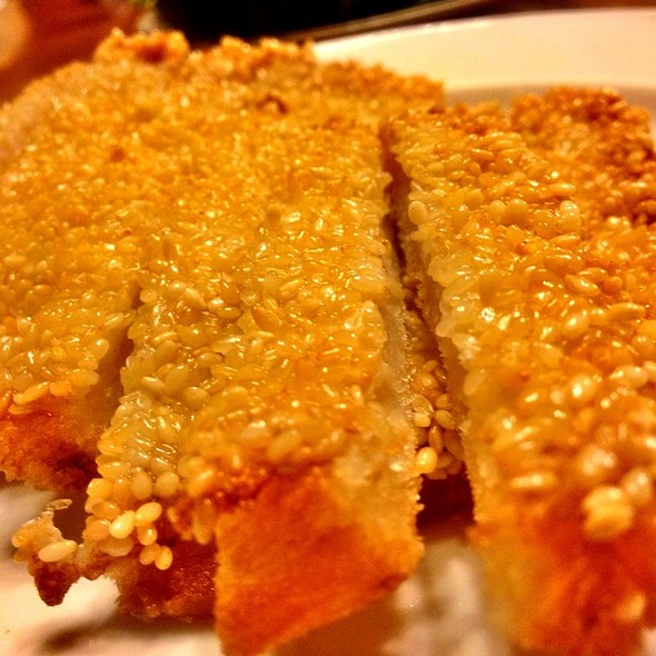 Deep Fried Sesame Prawns Toast  @ New Great Shanghai