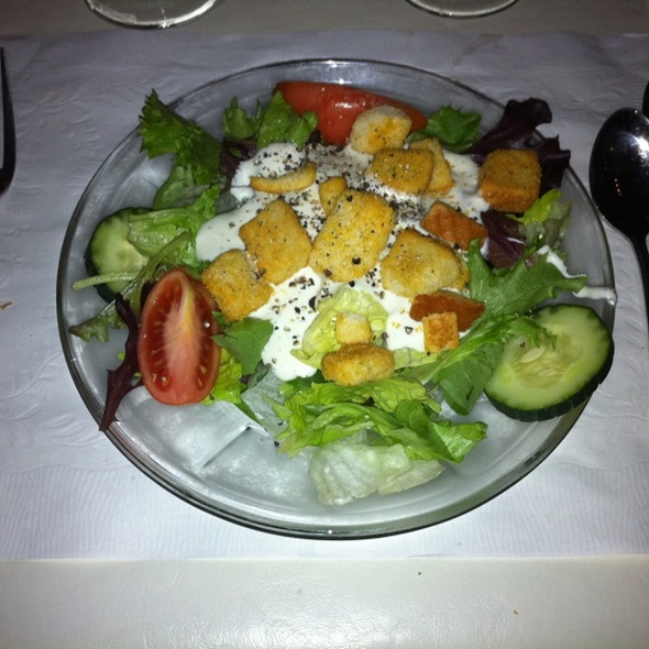 Side Salad @ Nolan's Restaurant and Lounge Gulf Shores