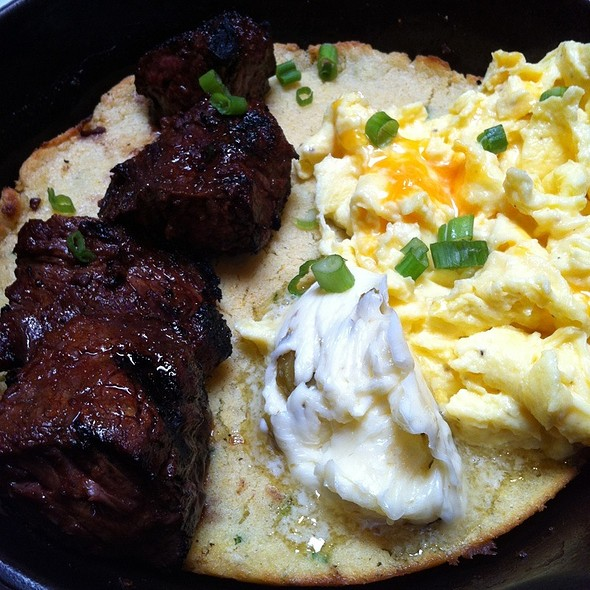 Steak and Eggs @ Tasty And Sons