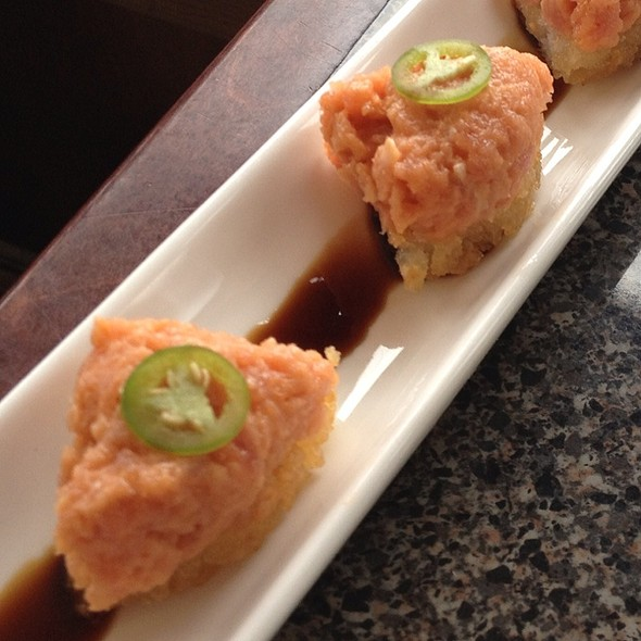 Spicy Tuna on Crispy Rice @ Izakaya Sozai