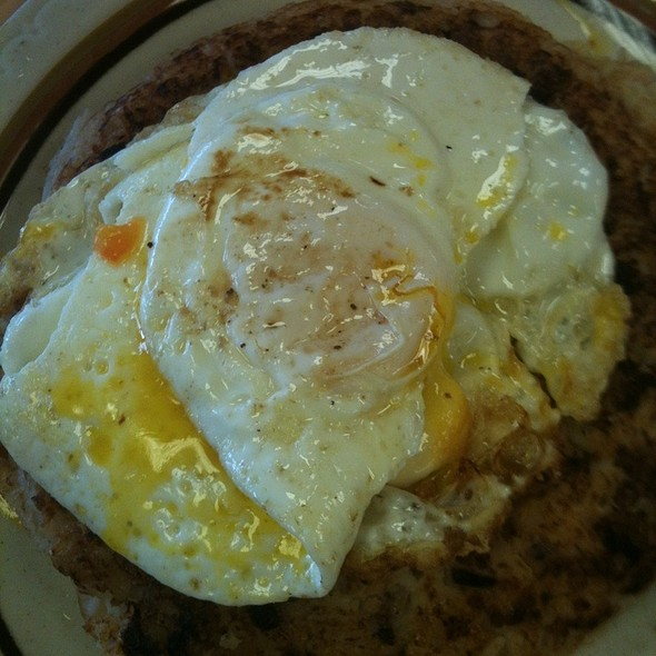 Tacu Tacu Con Huevo Frito @ Machu Picchu Restaurant